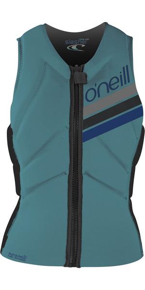 2018 O'Neill Womens Slasher Comp Impact Vest Breeze 4938EU