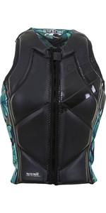2019 O'Neill Womens Slasher Comp Impact Vest Glide Black / Faro 4938EU