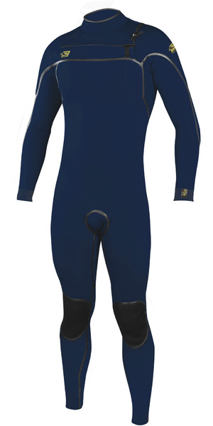 2019 O'Neill Mens Psycho One 4/3mm Chest Zip Wetsuit Abyss 4967