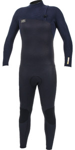 2020 O'Neill Mens HyperFreak Comp 4/3mm Zipperless Wetsuit Abyss / Black 4971