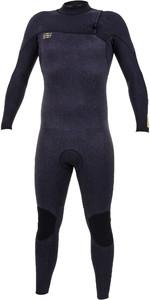 2019 O'Neill HyperFreak Comp 5/4mm Zip Free Wetsuit Acid Wash / Black 5005