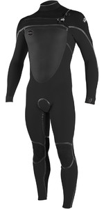 2018 O'Neill Psycho Tech 5/4mm Chest Zip Wetsuit Midnite Oil / Black 5028