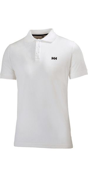 2019 Helly Hansen Driftline Polo Shirt White 50584
