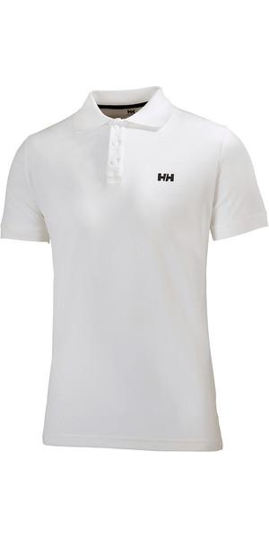2018 Helly Hansen Driftline Polo Shirt White 50584