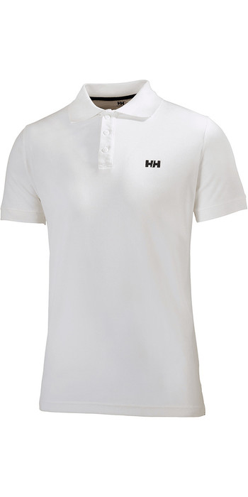 2019 Helly Hansen Driftline Polo Shirt White 50584