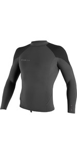 2021 O'Neill Mens Reactor II 1.5mm Neoprene Long Sleeve Top Graphite / Black / Ocean 5080