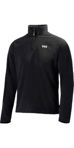 2021 Helly Hansen Mens Daybreaker 1/2 Zip Fleece Black 50844