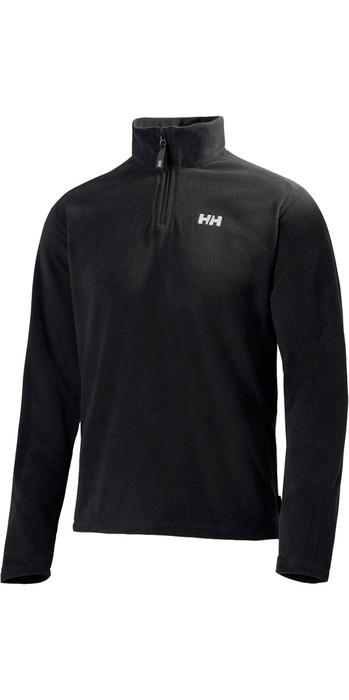 2021 Helly Hansen Mens Daybreaker 1/2 Zip Fleece Black 50844