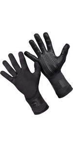 2021 O'Neill Psycho 3mm Double Lined Neoprene Gloves Black 5104