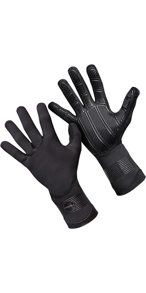 2019 O'Neill Psycho 3mm Double Lined Neoprene Gloves Black 5104