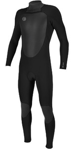 2018 O'Neill O'riginal 4/3mm Back Zip Wetsuit BLACK 5114