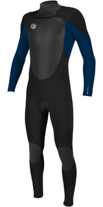 2018 O'Neill O'riginal 4/3mm Back Zip Wetsuit BLACK / Deep Sea 5114