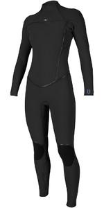 O'Neill Womens Psycho One 5/4mm Back Zip Wetsuit BLACK 5121