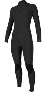 O'Neill Womens Psycho One 5/4mm Back Zip Wetsuit BLACK 5121