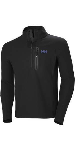 2019 Helly Hansen Vanir 1/2 Zip Fleece Black 51801