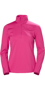2019 Helly Hansen Womens Phantom 1/2 Zip Fleece 2.0 Dragon Fruit 51813