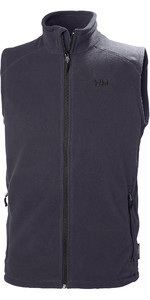 2019 Helly Hansen Mens Daybreaker Fleece Vest Graphite Blue 51831