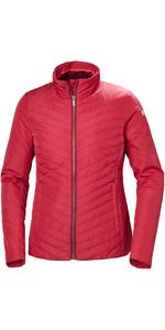 2019 Helly Hansen Womens Crew Insulator Jacket Cardinal 53030