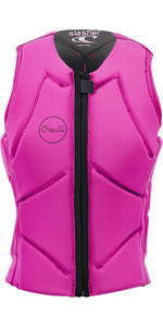 2019 O'Neill Womens Slasher B Comp Impact Vest Glide Berry / Graphite 5331EU