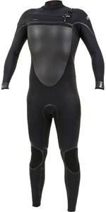 2019 O'Neill Psycho Tech 4/3mm Chest Zip Wetsuit Black 5337
