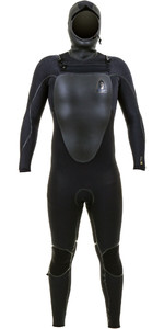 2019 O'Neill Mutant Legend 5/4mm Chest Zip Hooded Wetsuit Black 5369