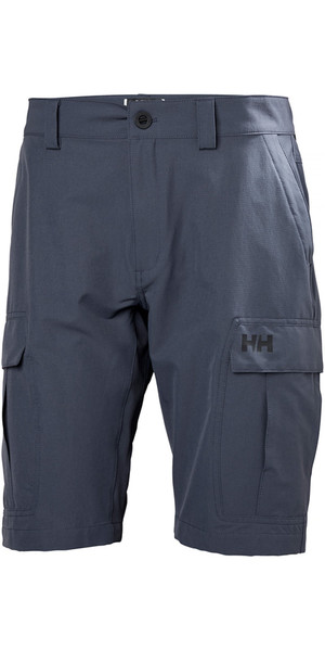 2018 Helly Hansen QD Cargo Shorts Graphite Blue 54154