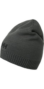 2019 Helly Hansen Brand Beanie Grey 57502