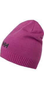 2019 Helly Hansen Brand Beanie Pink 57502