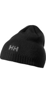 2018 Helly Hansen Brand Beanie in Black 57502
