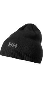 2020 Helly Hansen Brand Beanie Black 57502