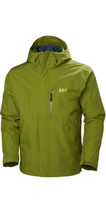 2019 Helly Hansen Mens Squamish CIS 3-in-1 Jacket 62368 - Wood Green