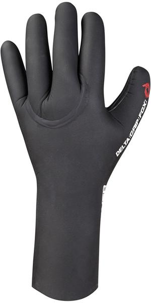 Crewsaver Delta Plus 3mm winter warmth Gloves in BLACK 6326