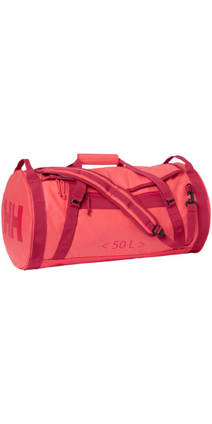 2019 Helly Hansen HH 50L Duffel Bag 2 Goji Berry 68005