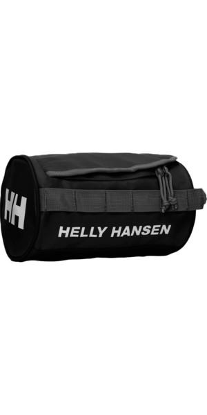 2018 Helly Hansen Wash Bag 2 Black 68007