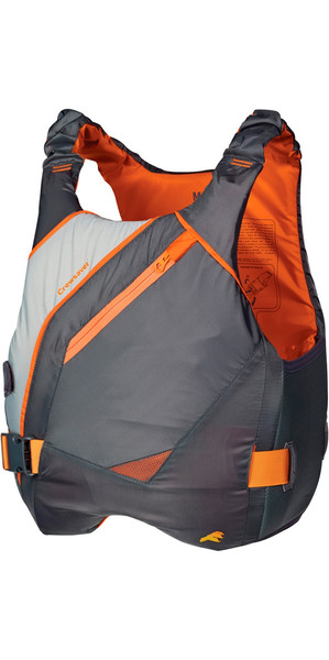 Crewsaver JUNIOR Phase 2 Buoyancy Aid in GREY / Orange 6900