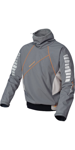Crewsaver Phase 2 Race Top Fleece Lined in Grey / Orange 6902