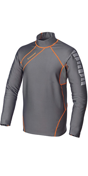 Crewsaver Kids Phase 2 Thermal Control Top Grey / Orange 6907