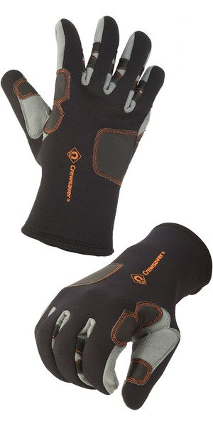 Crewsaver Phase 2 Tri-Season Neoprene Glove GREY 6929