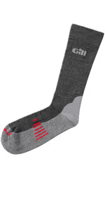 2019 Gill Midweight Socks in GREY 759