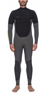 Musto Mens Foiling Impact Chest Zip Steamer Wetsuit 80869 - Dark Grey / Black