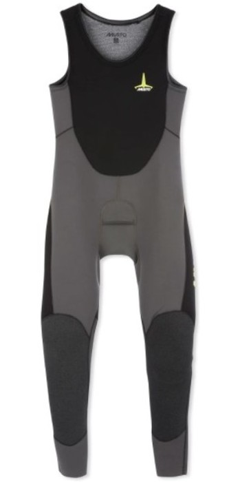 Musto Mens Foiling Thermohot Impact Wetsuit 80870 - Dark Grey / Black