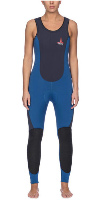 Musto Womens Foiling Thermohot Impact Wetsuit 80925 - Sky Dive / True Navy