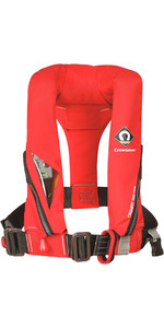 2019 Crewsaver Crewfit 150N Junior Lifejacket Auto With Harness Red 9005RA