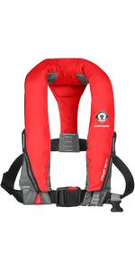 2019 Crewsaver Crewfit 165N Sport Manual Lifejacket - Red 9010RM