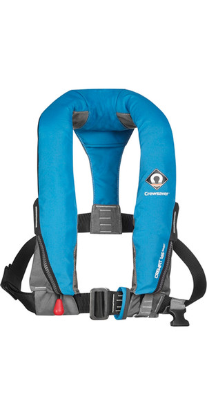 2019 Crewsaver Crewfit 165N Sport Automatic With Harness Lifejacket Blue 9015BA