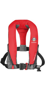 2019 Crewsaver Crewfit 165N Sport Manual With Harness Lifejacket - Red 9015RM
