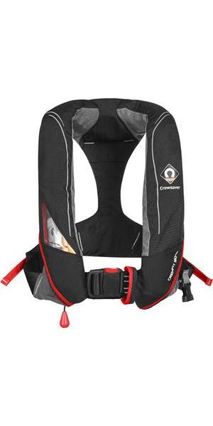 2019 Crewsaver Crewfit 180N Pro Manual Lifejacket Black / Red 9020BRM