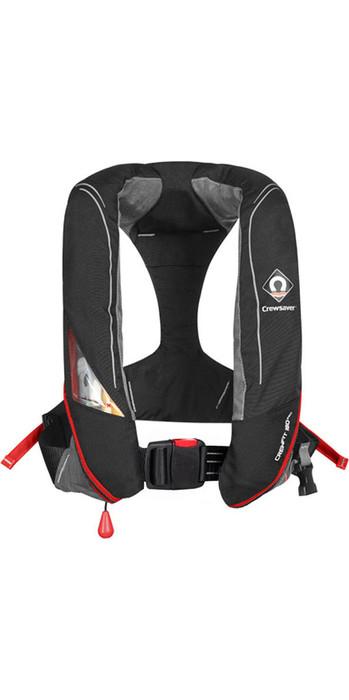 2021 Crewsaver Crewfit 180N Pro Manual Lifejacket Black / Red 9020BRM