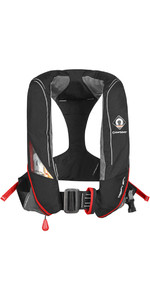 2019 Crewsaver Crewfit 180N Pro Automatic Harness Lifejacket Black / Red 9025BRA