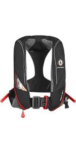 2019 Crewsaver Crewfit 180N Pro Automatic Harness Lifejacket Black / Red 9025BRA